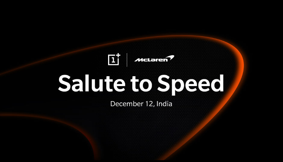 OnePlus expected to launch a McLaren Edition of OnePlus 6T on 12 December in India