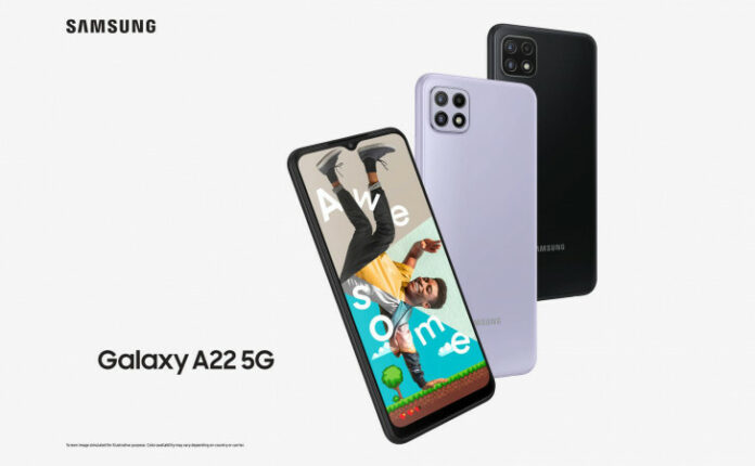 Samsung Galaxy A22 4G, Galaxy A22 5G launched with MediaTek chips
