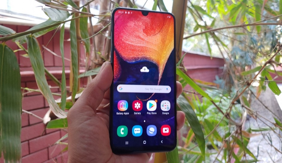 Samsung Galaxy A50 update brings camera improvements with July Android Security Patch