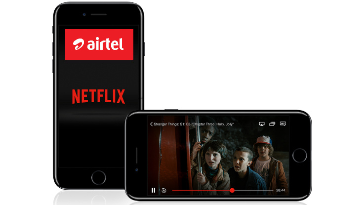 Airtel, Netflix partnership to be announced in May