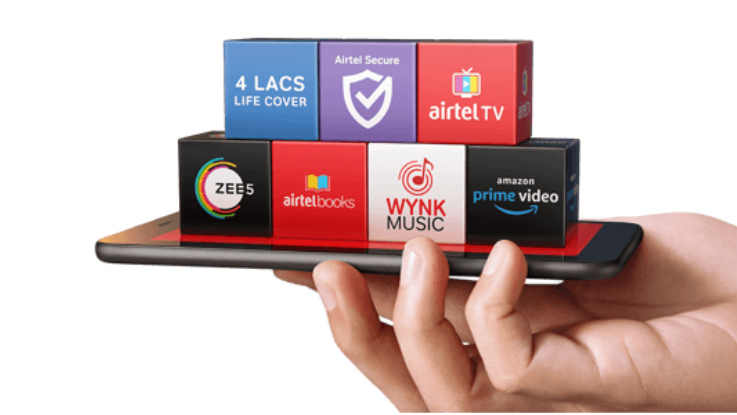 Airtel is offering complimentory 400MB data per day on select prepaid plans