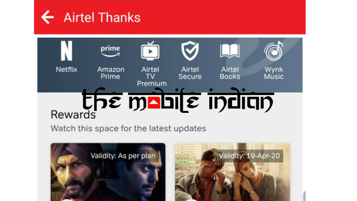 Airtel continues thanking its customers, return gifts get a face lift
