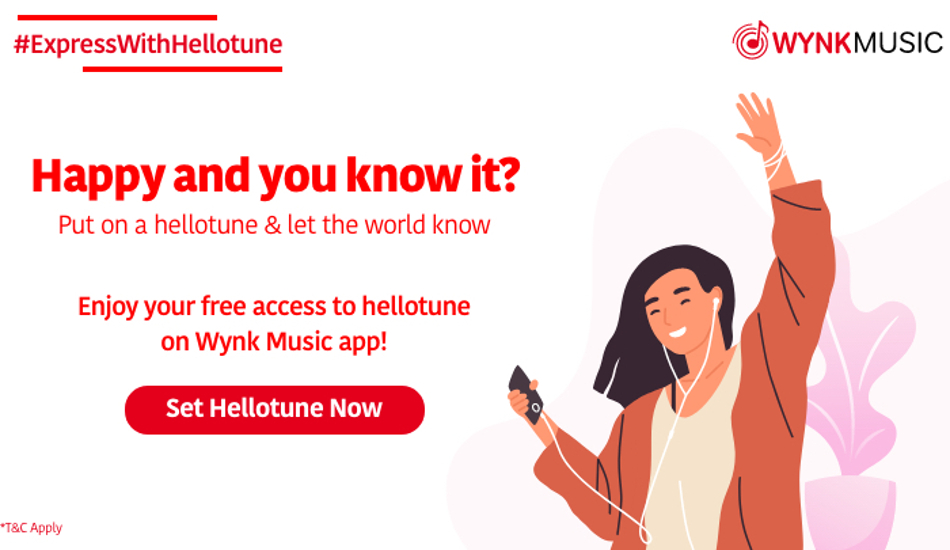 Airtel Hello Tunes now free to all Airtel Thanks customers