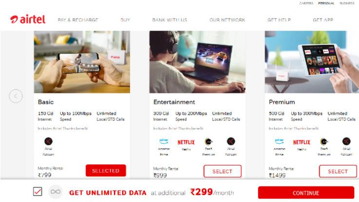 Airtel rebrands its broadband service as Airtel Xstream Fibre