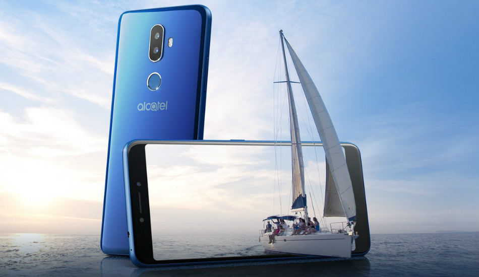 Alcatel 3V launched in India with 6-inch FHD+ 18:9 display and dual rear cameras for Rs 9,999