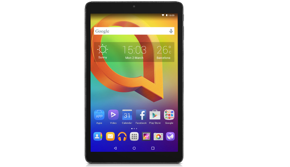 Alcatel A3 10 Wi-Fi tablet launched in India at Rs 6,999