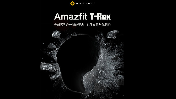 Amazfit T-Rex launched in India for Rs 9,999