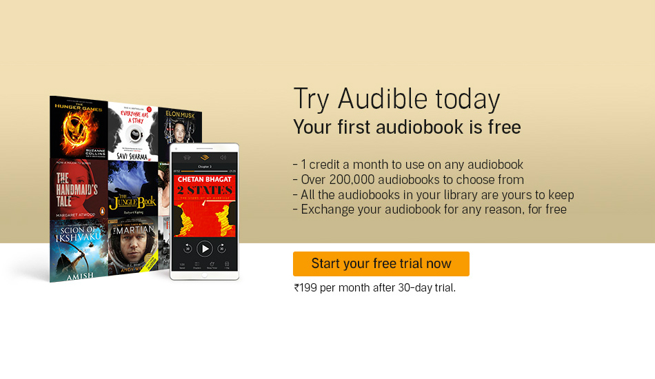 Amazon Audible audiobook service debuts in India, starts at Rs 199 per month