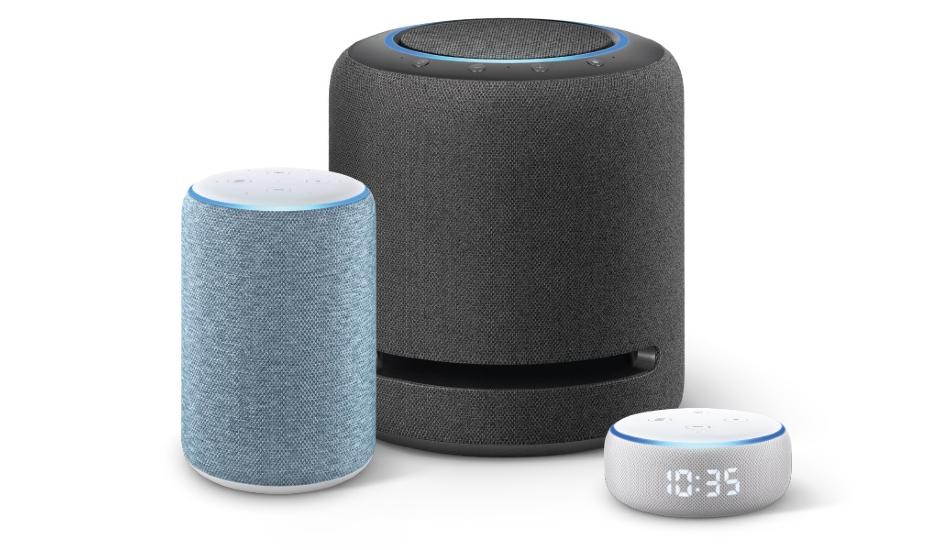 Amazon unveils new Echo, Echo Dot with clock, Echo Studio in India