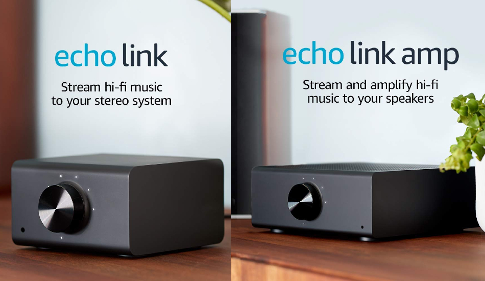 Amazon Echo Link, Echo Link Amp launched for streaming hifi music on your home stereo