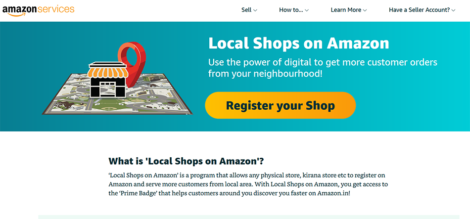 Amazon targets local kirana stores in India with Local Shops program