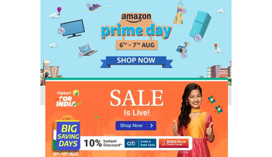 Amazon Prime Day 2020 vs Flipkart Big Saving Days sale: Here are the Best Deals