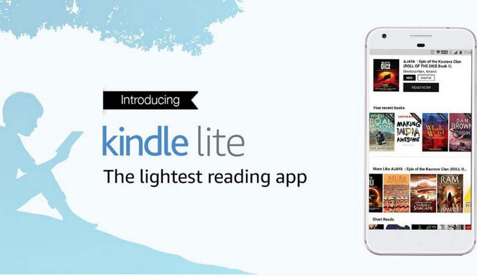 Amazon Kindle Lite app launched in India for Android users