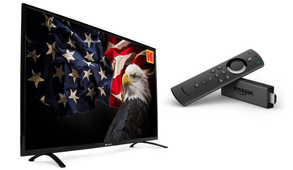 Amazon is offering free Fire TV Stick on purchase of 50-inch Kodak LED TV