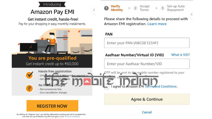 Amazon Pay EMI is now available for select mobile users in India