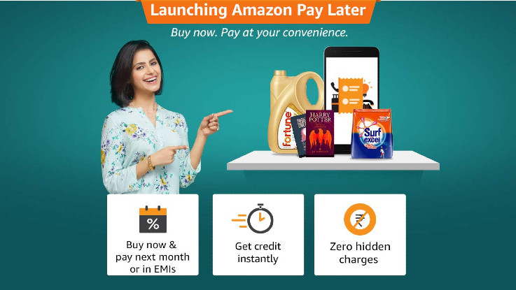 Amazon Pay Later for instant credit launched in India