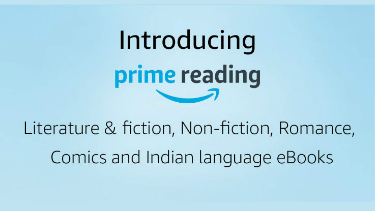 Amazon Prime Reading now available in India, offers unlimited access to eBooks