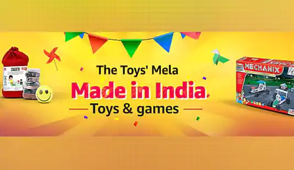 Amazon India Launches Made in India toy store to support local talent