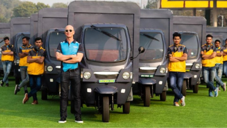 Amazon India introduces electric delivery rickshaws in India