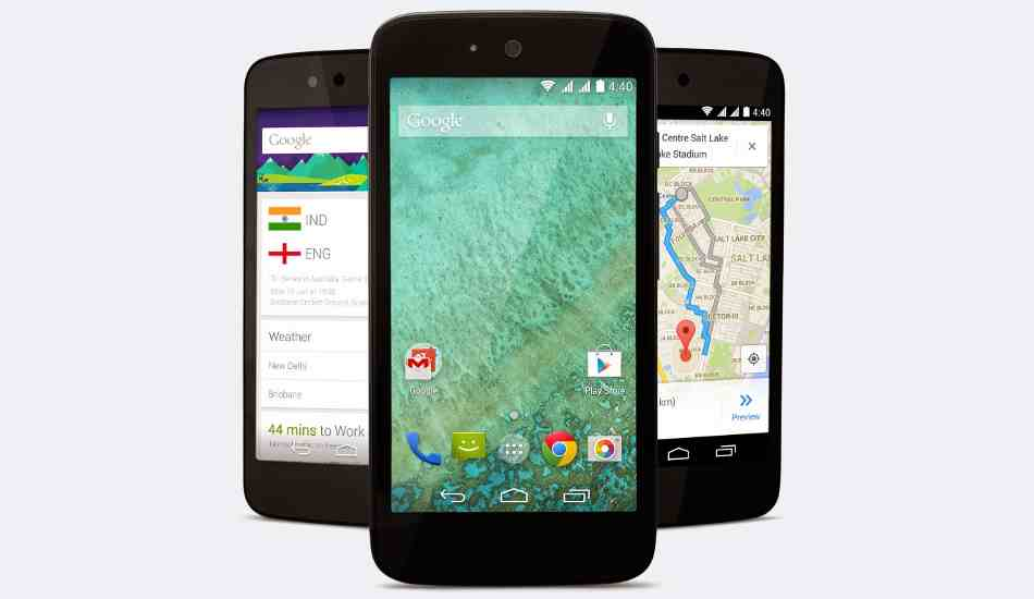 Android One devices getting Lollipop update