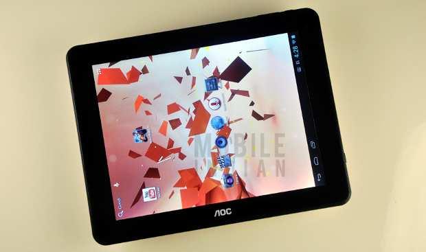 Tablet Review: AOC Breeze 9.7