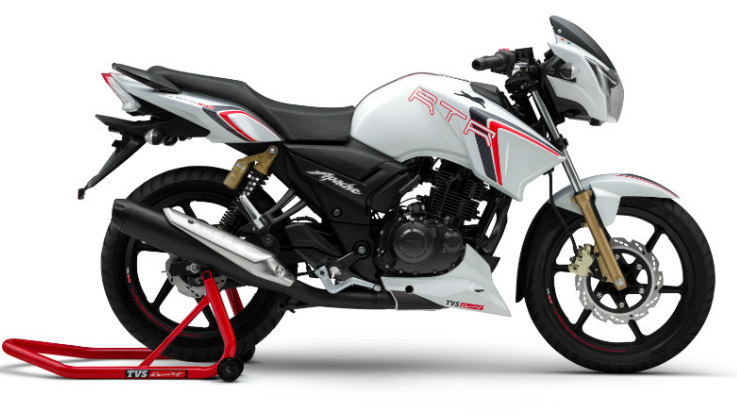 TVS Apache RTR 180 Race Edition launched in India for Rs 83,233