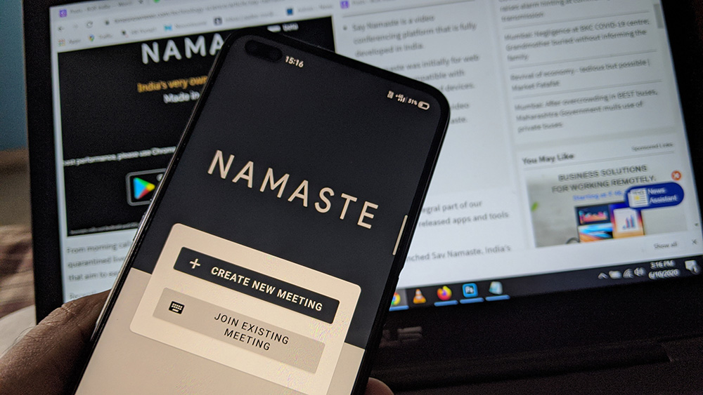 Say Namaste video conferencing app now comes to Android - How it works