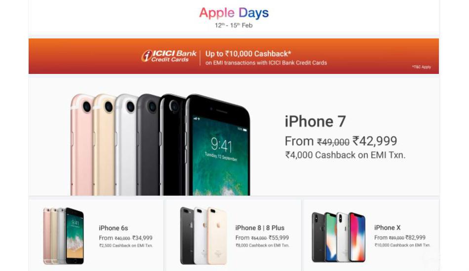 Apple Days Sale on Flipkart: Top deals on iPhone X, iPhone 8 Plus, iPads, MacBook and more