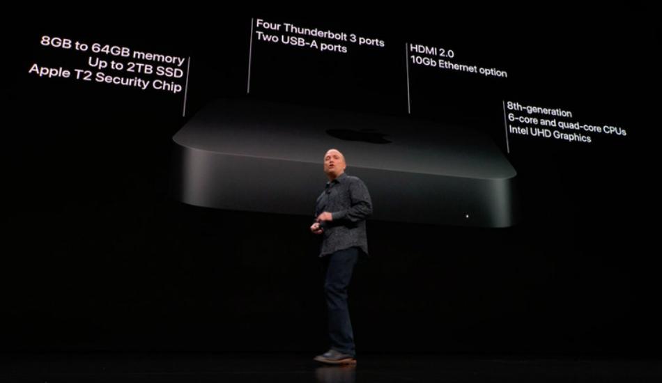 Apple Mac Mini 2018 with six-core Intel Core i7, 64GB RAM announced