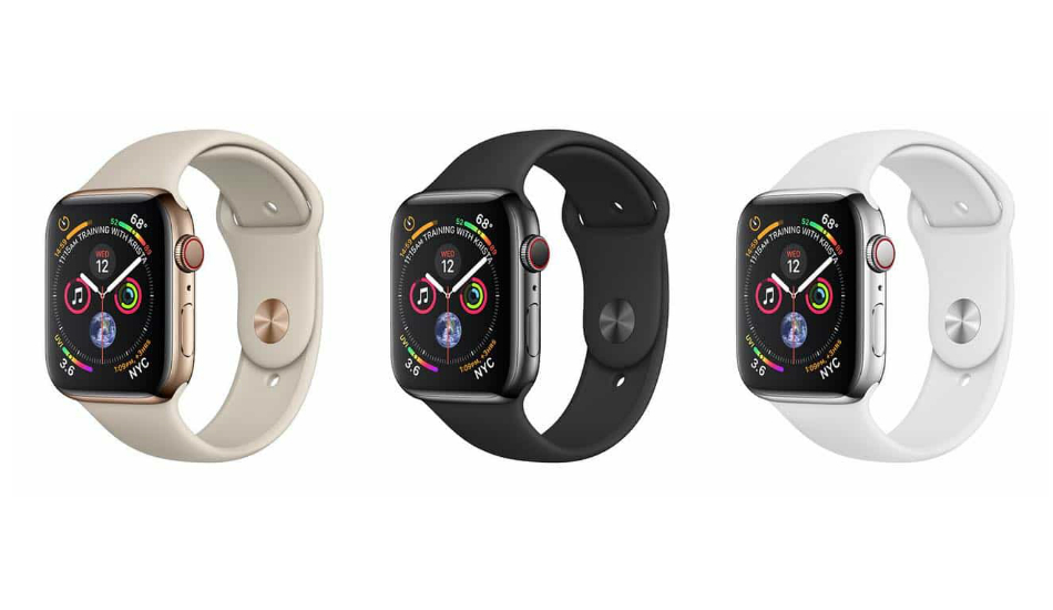 Apple Watch Series 4 enables fall detection by default for users aged 65 or higher