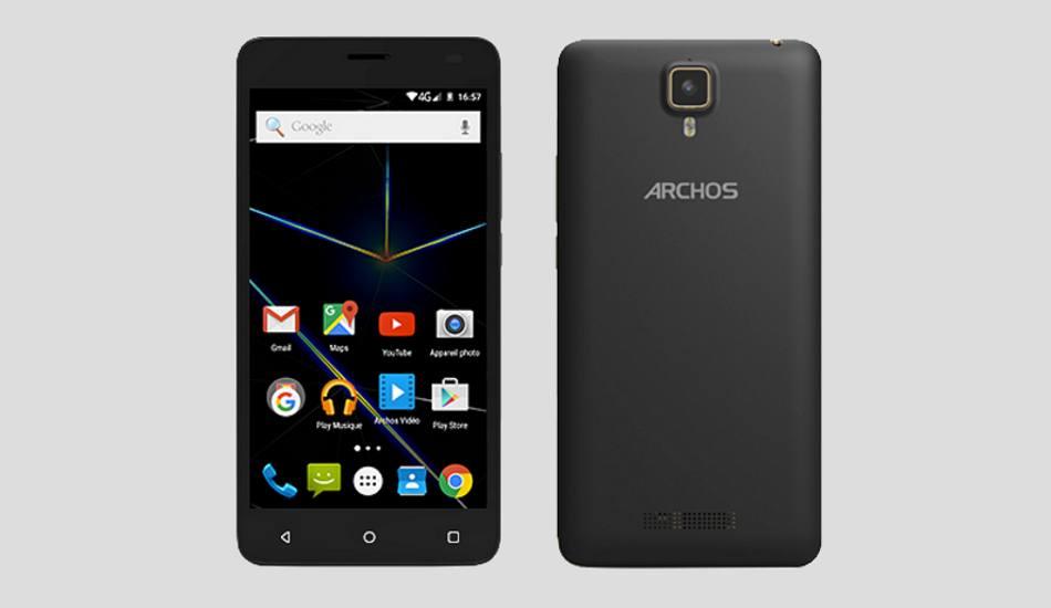Archos 50d Oxygen Plus launched with 16MP camera, octa core processor