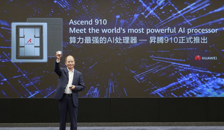 Huawei launches Ascend 910, claims to be world's most powerful AI processor