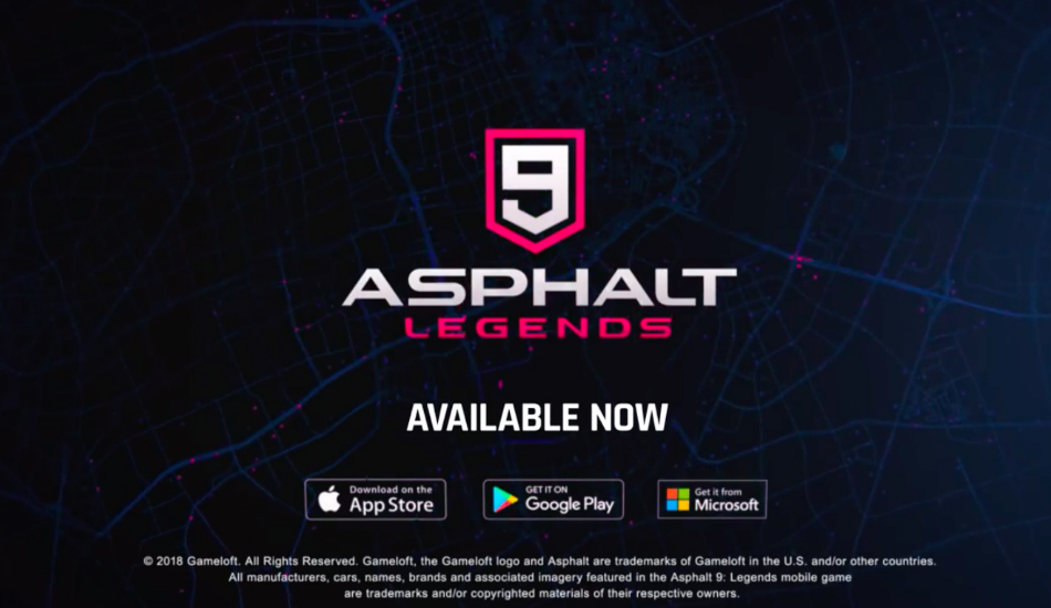 Gameloft updates Asphalt 9: Legends with new features, multiplayer rules