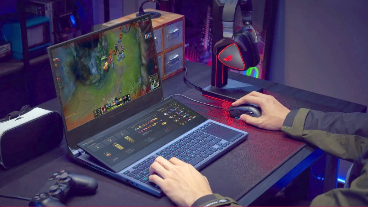 Asus ROG Zephyrus Duo 15 gaming laptop announced