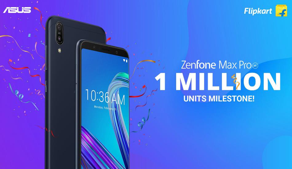 Asus Zenfone Max Pro M1 hits 1 million units in under six months