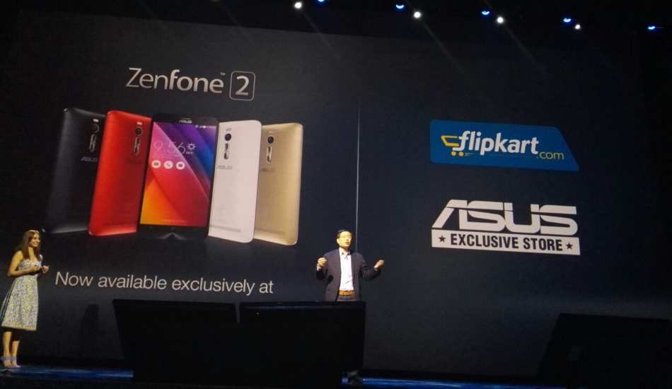 World's first phone with 4 GB RAM, Asus Zenfone 2 launched in India for Rs 19,999 onwards