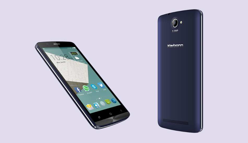 Karbonn Aura 9 launched with huge 4000 mAh battery for Rs 6,390