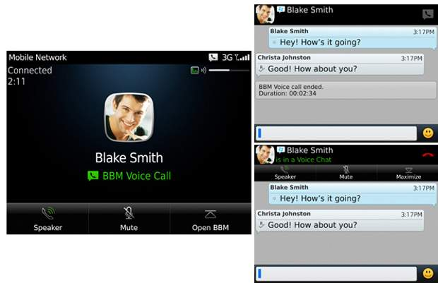 BBM Voice now available for all BlackBerry users