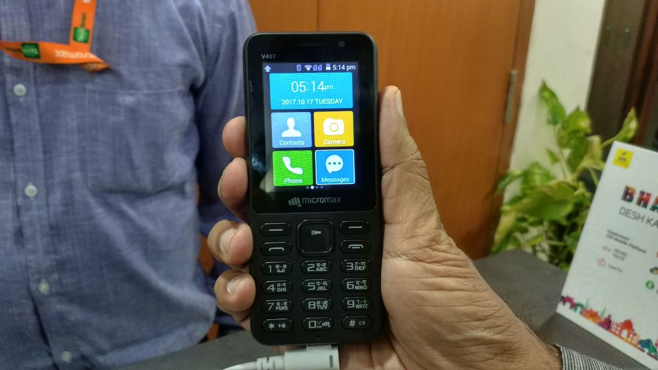 Micromax Bharat 1 in Pictures