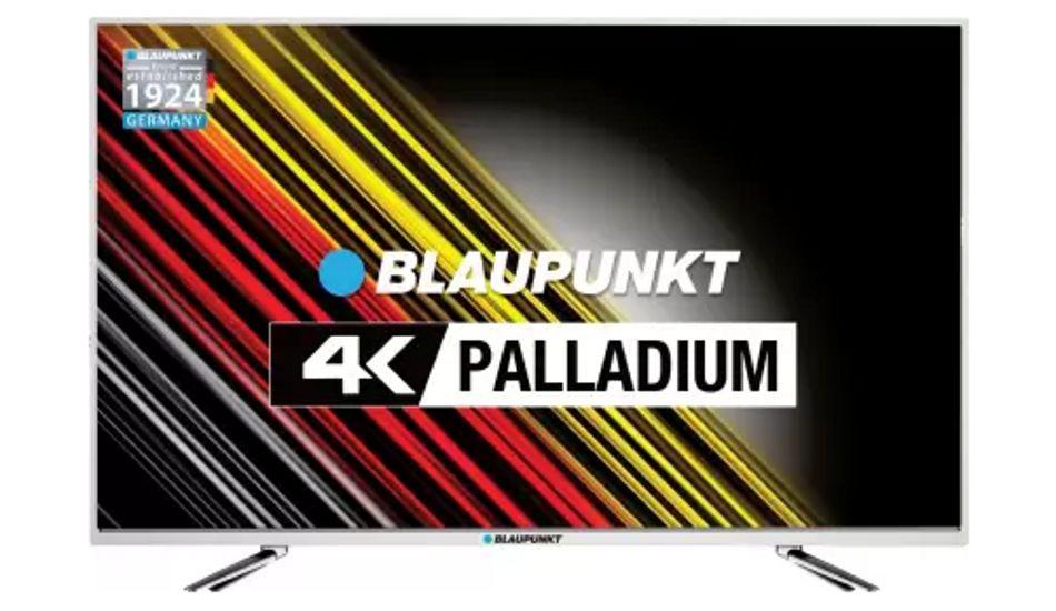 Blaupunkt launches 4K Palladium Series Ultra HD LED TV starting at Rs 19,999