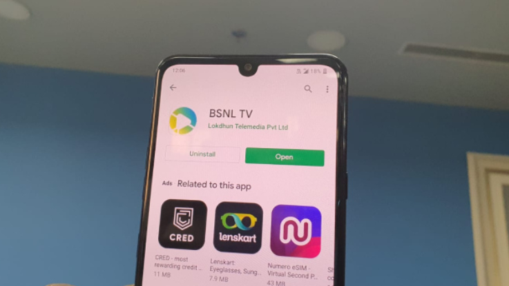How to watch free content on BSNL TV application?