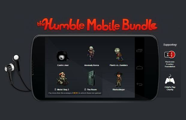 Humble mobile bundle now available for android devices