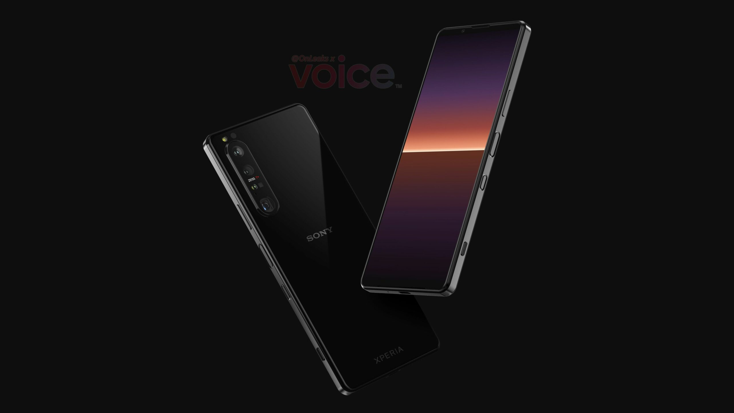 Sony Xperia 1 III appears in high-res renders, specifications leaked