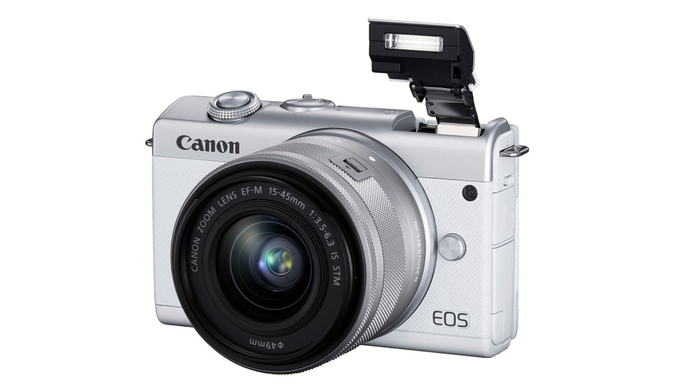Canon EOS M200 24.1MP mirrorless camera announced with eye-autofocus, 4K support