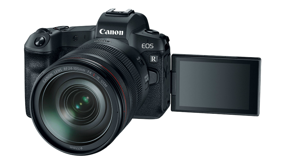 Canon unveils its first full-frame mirrorless EOS R camera