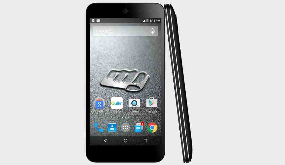 Micromax Canvas Nitro 4G launched at Rs 10,999