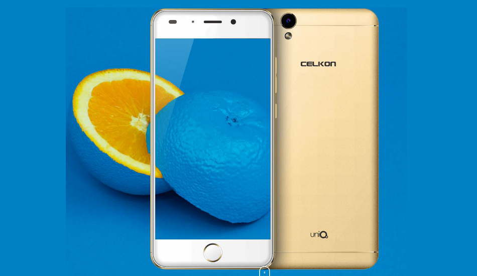 Celkon UniQ launched with 16MP rear camera for Rs 8,999