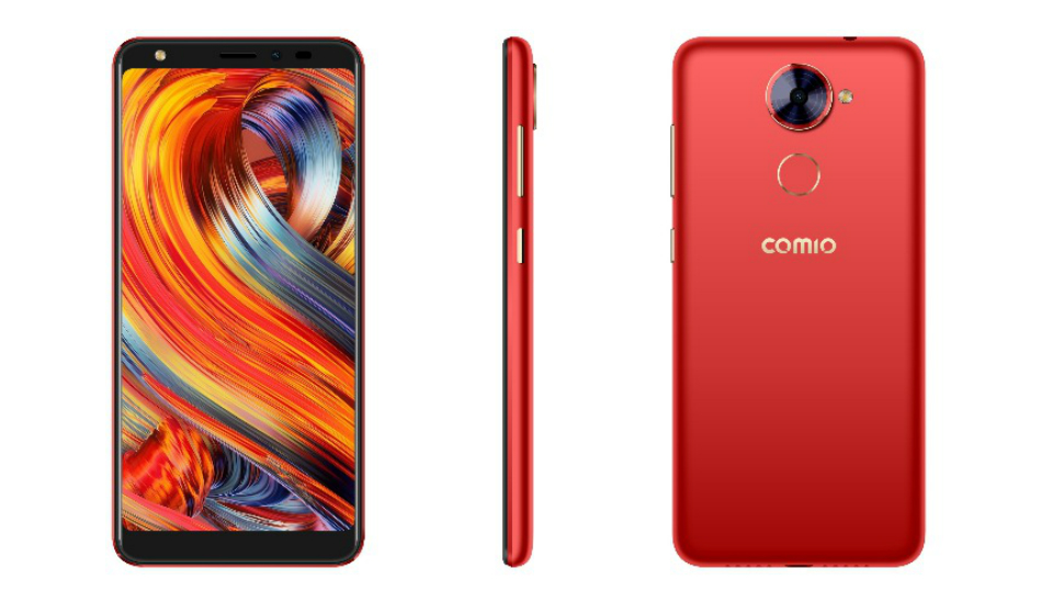 Comio X1 launched with 5.5-inch Full View screen, Face unlock, Android Oreo