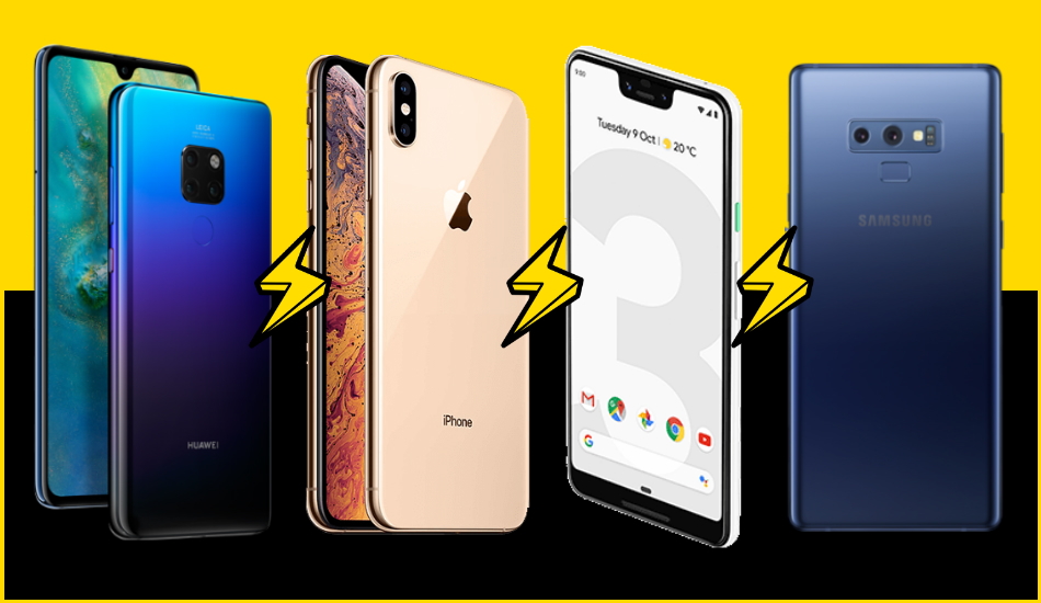 Mate 20 Pro vs iPhone XS Max vs Pixel 3 XL vs Galaxy Note 9: Flagship Frontrunners with the perfect camera