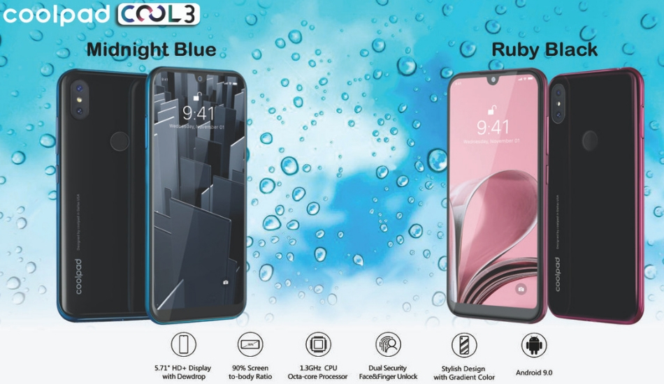 Coolpad Cool 3 launched for Rs 5,999